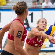 Drei deutsche Beachvolleyball-Duos in nächster Runde (Foto)