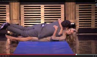Heidi Klum geht in einer US-Talkshow ganz schön ran. (Foto)