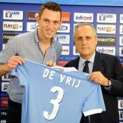 Neuer Klose-Teamkollege de Vrij vorgestellt (Foto)
