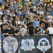 UEFA untersucht Fan-Gewalt in Ukraine (Foto)