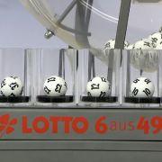 Kuriose Lotto-Ziehung mit Fünfer-Reihe: Jackpot nicht geknackt (Foto)