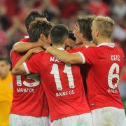 Mainz müht sich zum Sieg - 1:0 gegen Tripolis (Foto)