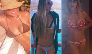 Jennifer Lopez, Elle Macpherson, Verona Pooth: Sie alle beweisen, dass frau auch über 40 sexy sein kann. (Foto)