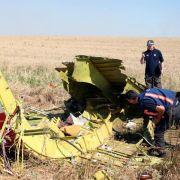 Leichenteile von MH17-Opfern geborgen - Kämpfe spitzen sich zu (Foto)