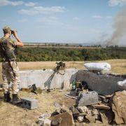 Russland beginnt Großmanöver - Kämpfe am Absturzort (Foto)