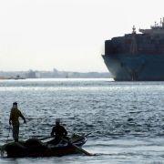 Ägypten plant milliardenschweren Ausbau desSuez-Kanals (Foto)