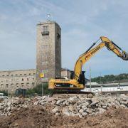 Baustart für Tiefbahnhof Stuttgart 21 (Foto)