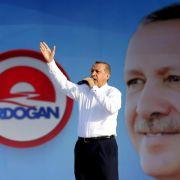 Festnahmewelle bei Polizei vor Präsidentenwahl in der Türkei (Foto)