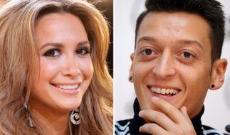 DFB-Kicker Mesut Özil und seine Freundin Mandy Capristo haben ihre kleine Familie erweitert. (Foto)