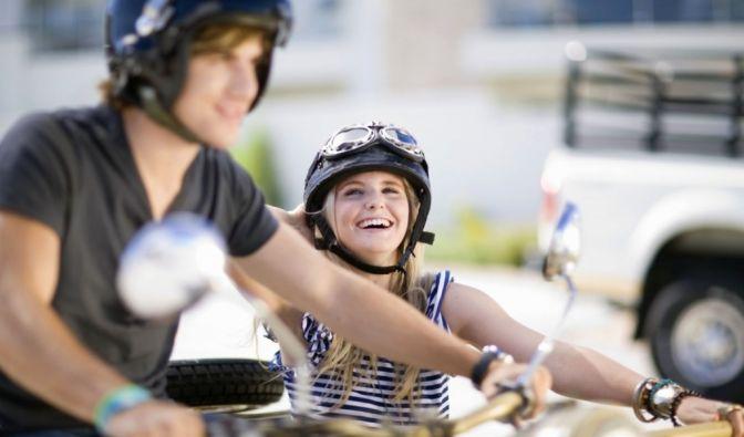 Sicherheit auf dem Motorrad