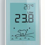 Eisbär auf Scholle warnt vor zu viel Energieverbrauch (Foto)
