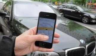 Fahrdienst Uber will gegen mögliches Verbot in Berlin vorgehen (Foto)