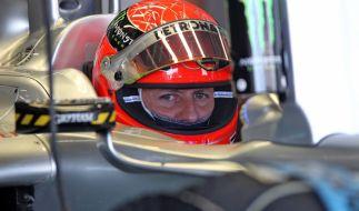 Michael Schumacher erholt sich in Lausanne. (Foto)