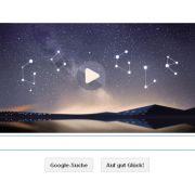 Google Doodle für Sternschnuppen-Spektakel (Foto)