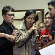 Berüchtigter Ex-General «Der Schlächter» in Manila gefasst (Foto)