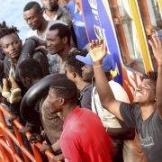 Immer mehr Bootsflüchtlinge kommen nach Spanien (Foto)