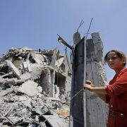 Zähes Ringen um dauerhafte Lösung im Gaza-Konflikt (Foto)