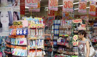 Japans Wirtschaft deutlich geschrumpft (Foto)