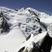 Sechs Bergsteiger sterben bei Tour im Montblanc-Massiv (Foto)