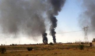 USA erwägen Rettungseinsatz im Irak - Frankreich liefert Waffen (Foto)