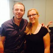 News.de-Redakteurin Susett Queisert traf Simon Pegg zum Interview in Berlin.