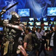 Spielemesse Gamescom öffnet Tore für Fans (Foto)