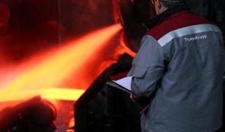 ThyssenKrupp setzt Erholungskurs fort (Foto)