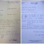 Googles Antwort-Brief auf eine Offline-Suchanfrage (Foto)