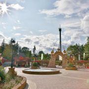 Von Karussell mitgeschleift:Elfjährige stirbt in Freizeitpark (Foto)