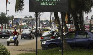 Ebola-Patienten flüchten aus Klinik in Liberia (Foto)