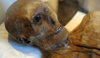 Die Beamten fanden die Leiche mumifiziert und verwest vor. (Foto)