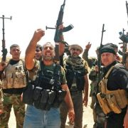 Kurden setzen Angriffe gegen IS-Extremisten im Nordirak fort (Foto)