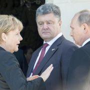 Ukraine: Hoffnung auf Treffen Putin/Poroschenko (Foto)