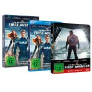 3D-Blu-ray, Blu-ray und DVD zu «The Return of the First Avenger» sind seit dem 14. August 2014 im Handel erhältlich.