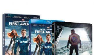 3D-Blu-ray, Blu-ray und DVD zu «The Return of the First Avenger» sind seit dem 14. August 2014 im Handel erhältlich. (Foto)