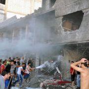 Der Isis-Terror tobt: Bei einem Autobomben-Attentat in Wadi al-Dahab in Syrien sind Ende Juli 2014 zwei Menschen getötet und 30 weitere verletzt worden.