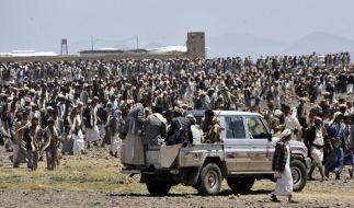Jemen: Zehntausende Rebellen marschieren in Hauptstadt ein (Foto)