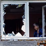 Überall in der Ostukraine hinterlassen die Kämpfe zwischen dem ukrainischem Militär und den prorussischen Aktivisten Schutt und Asche.