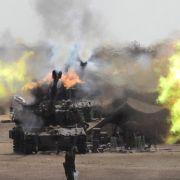 Israel hat bis zum 15. August 2014 32.000 Artilleriegranaten auf den Gaza-Streifen abgefeuert.