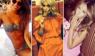 Mirjana Vasovic, Lena Gercke, Mandy Capristo: Die Spielerfrauen sind auf ihren Social-Media-Kanälen sehr aktiv und posten regelmäßig Selfies. (Foto)