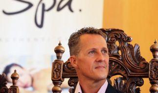 2012 wird Michael Schumacher zum Ehrenbürger der belgischen Stadt Spa gekürt. (Foto)
