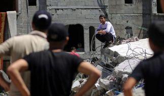 Hamas exekutiert angebliche Kollaborateure im Gazastreifen (Foto)