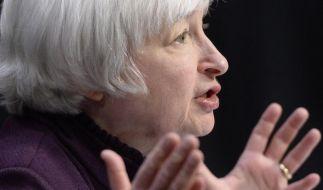 Fed-Chefin Yellen bleibt beim Thema Zinsen vage (Foto)