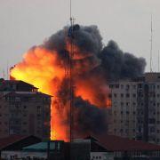 Israel wird an drei Fronten mit Raketen beschossen (Foto)