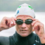 Noch nie war Salzwasser so lecker: Rheinschwimmer am Ziel (Foto)