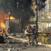 Großangriffe der Terrormiliz IS in Syrien und im Irak (Foto)