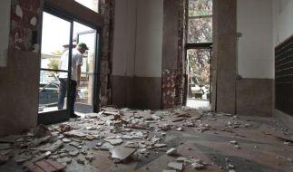 Dutzende Verletzte bei US-Erdbeben (Foto)