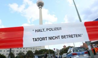 Mann nahe Berliner Alexanderplatz erstochen (Foto)