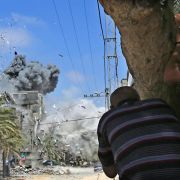 Angriffe im Gaza-Krieg dauern an (Foto)