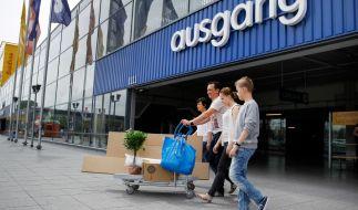 Für den Ikea-Check schickt die ARD Familien zum Testeinkauf. (Foto)